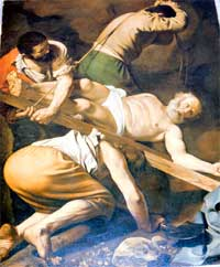 The Crucifixion of St. Peter, by Caravaggio