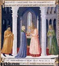 Herrens fremstilling i templet av Fra Angelico